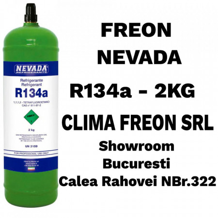 Agent Frigorifc R134a - 2KG - NEVADA