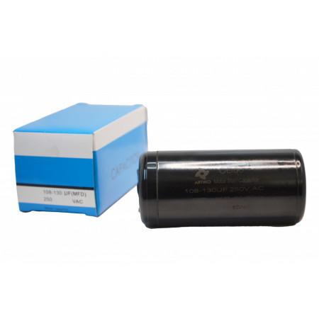 Condensator Pornire Motor, CD60, 108-130uF(MFD) ,250 VAC