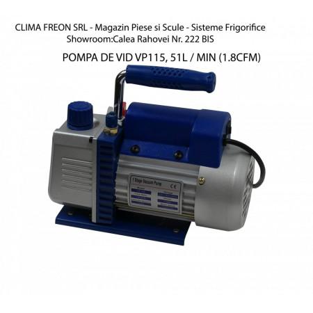 Pompa de Vid VP115, 51L / MIN (1.8CFM)   Aer Conditionat - Instalatii Frigorifice