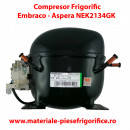 Compresor frigorific Embraco AsperaNEK2134GK |NEK 2134 GK |R404A, R507 |220 - 240V/1/50Hz