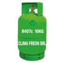 Freon R407c la butelie 10 kg