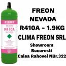 Butelie Reincarcabila Freon R410A - 1.9KG | Nevada