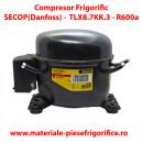 Compresor frigorific SECOP(Danfoss) TLX8.7KK.3 ,R600a, 220-240V, 50Hz