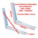 Set Console Metalice Rabatabile pentru Aer Conditionat , 450L X 400H , 9000 - 12000BTU
