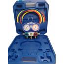 Trusa completa cu baterie de Manometre R32, R410A, set furtune(160 cm) incluse
