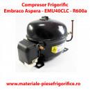 Compresor frigorific Embraco AsperaEMU40CLC, LBP - R600,220-240V/1F/50Hz