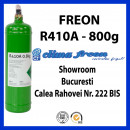 Freon R410a, 0.8 KG, Butelie Reincarcabila, ENTALPIA Europe