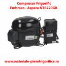 Compresor frigorific Embraco AsperaNT6220GK |NT 6220 GK |R404A | 220-240V-1-50Hz/230V-1-60Hz