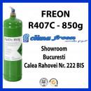 Freon R407c, 0.850g, Butelie Reincarcabila, ENTALPIA Europe