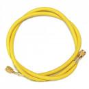 """Furtun pentru incarcari - descarcari agenti frigorifici 1/4"""" SAE, 90 cm GALBEN(yellow) - 1 Buc"""