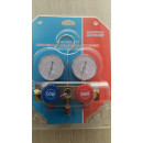Set Complet Baterie Manometre pentru Aer Conditionat + Furtune