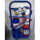 Statia profesionala de sudura 9Kg cu butelie de oxigen si gaz
