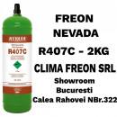 Butelie Reincarcabila Freon R407C - 2KG - Nevada