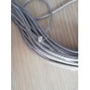 Rezistenta incalzire, siliconata cu protectie metalica 25W/metru