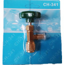 Robinet butelie Tip Freon R600 - R290 - CT-341 - 1/4 SAE