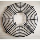 Grila neagra ventilator agregat frigorific, 30 cm