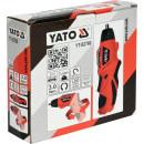 Șurubelniță cu acumulator 3.6V, 3Nm Yato YT-82760