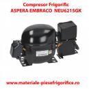 Compresor frigorific Embraco Aspera NEU6215GK, R404A , 220-240V 50Hz