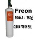 Freon R404a butelie 750 gr