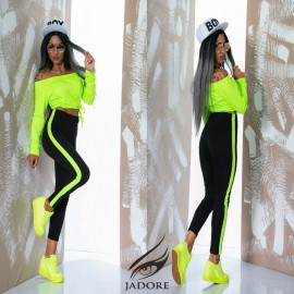 "Poze Trening"" by JadoreAccessorize"" cod 2239 neon A"