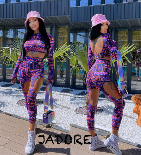 """Poze Compleu 2 piese JDR BY """"Jadore"""" cod 3686 colours"""