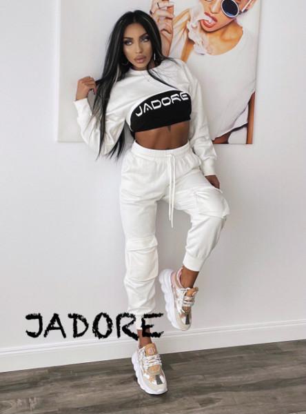 "Poze Set 3 piese White JDR BY ""Jadore"" cod 3655"