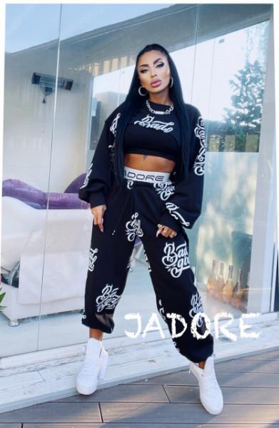 "Poze Trening 3 piese BAD GIRL BY ""Jadore "" cod B.G 01 negru"