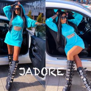"""Rochita JDR BY """"Jadore"""" cod 3665 blue"""