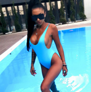 Body Costum de baie JDR cod 3598 albastru R