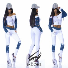 "Trening Jeans  "" by JadoreAccessorize"" cod 2095 blug E"
