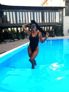 Body Costum de baie JDR cod 3598 negru