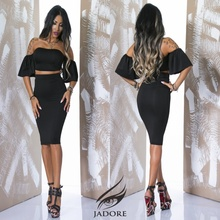"Compleu "" by JadoreAccessorize"" cod 2229 Black A"