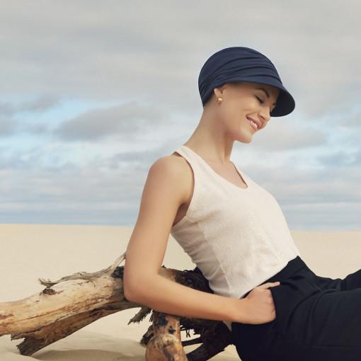 BB Bella turban, Dark Blue - colectia Sun