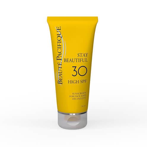Crema Protectie solara pentru fata 30* HIGH SPF, 50ml Beaute Pacifique