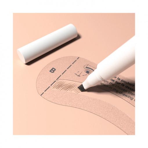 Meme Cosmetics, Creion pentru ochi si sprancene 2-in-1_2