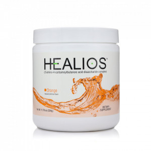 Healios, supliment Glutamina, mucozita orala, aroma portocale
