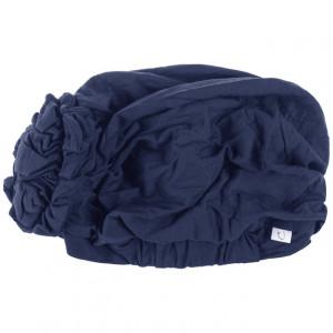 LOTUS turban, Dark Blue detaliu