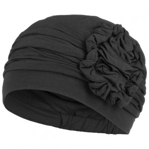 LOTUS turban, Black, Christine Headwear