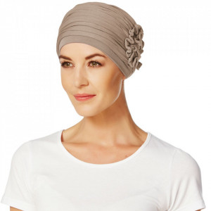 LOTUS turban, Brown, Onconect, Christine Headwear