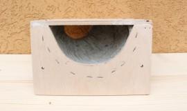 Cuib pentru lastun de casa (orificiu stanga)