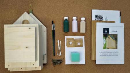 Cutia cu aripi - Kit cuib DIY