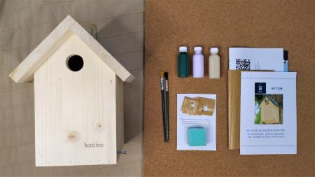 kit cuib natur - cutia cu aripi