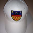 Șapcă albă stema Transilvaniei