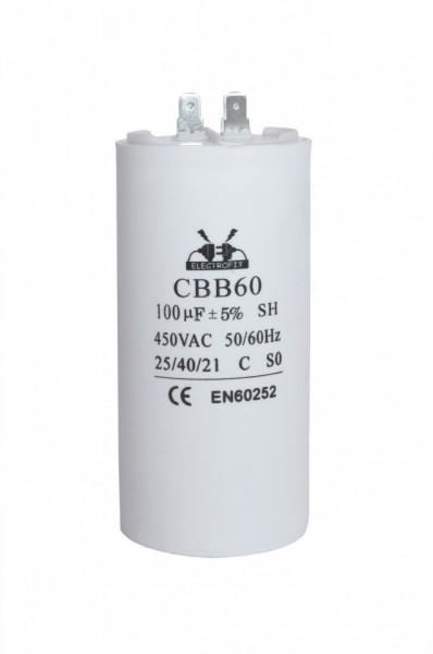 condensator pornire 100 μF 450 V