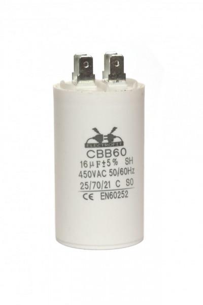 condensator pornire 16 μF 450 V