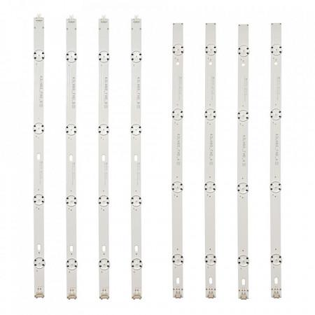 Set 8 barete LED LG 43 inch