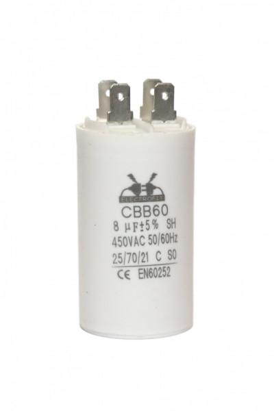 condensator pornire 8 μF 450 V