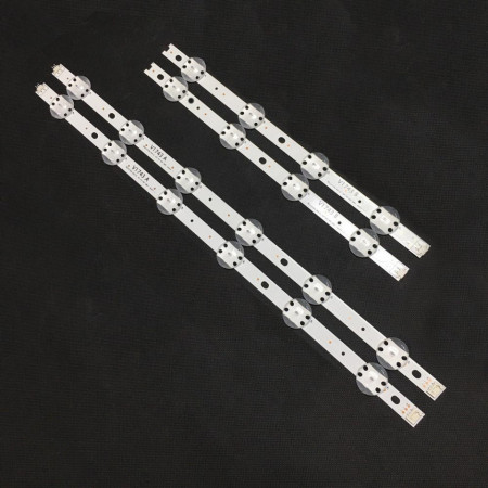 Set 4 barete LED LG 43 inch