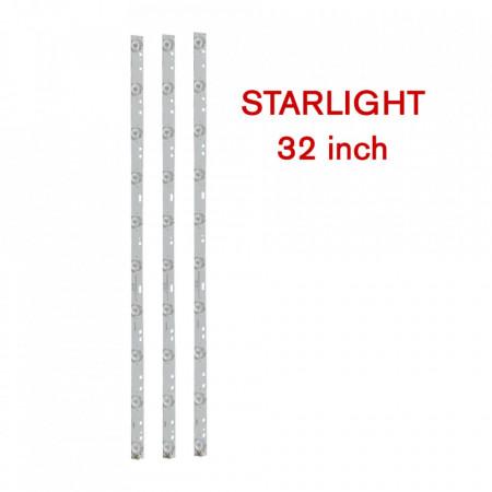 Set 3 barete LED tv STARLIGHT 32 inch