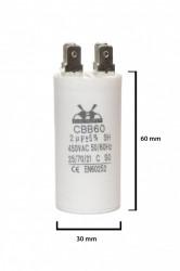condensator pornire 2 μF 450 V